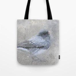 Dark Eyed Junco Bird Tote Bag