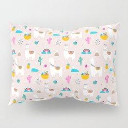 Cute Llama Fiesta Pillow Sham