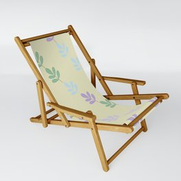 Flowers on Vine - Yellow Branches Sling Chair