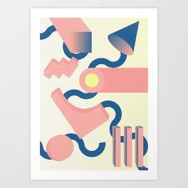 Lilium candidum #1 Art Print