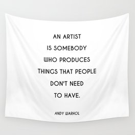 Raggedy Andy   Art Saying Quote Wall Tapestry
