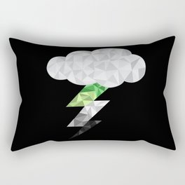 Aromantic Storm Cloud Rectangular Pillow