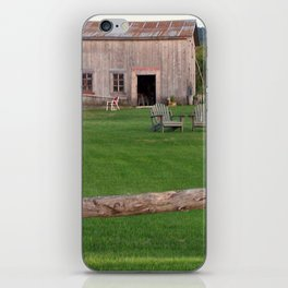 The Old Barn and Yard iPhone Skin