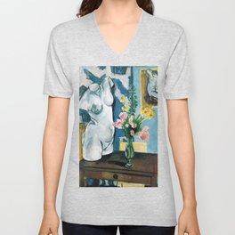 The Plaster Torso - Henri Matisse - Exhibition Poster Unisex V-Neck