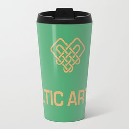 I heart Celtic Art Travel Mug