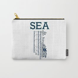 Seattle SEATAC SEA Carry-All Pouch