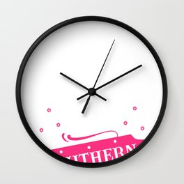 Cowboy Cowgirl Sweet Sassy and Southern Wall Clock