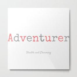Adventurer Metal Print