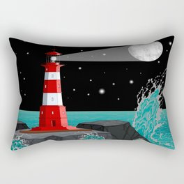 Fabulous Lighthouse Rectangular Pillow