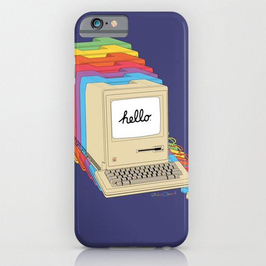 Macintosh Cascade iPhone & iPod Case