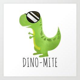 Dino-Mite Art Print