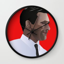 Mad Men star Don Draper Wall Clock