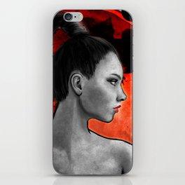 Red Warrior iPhone Skin