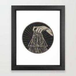 Invisibility Cloak Framed Art Print