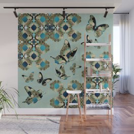 Marrakesh Butterflies Wall Mural