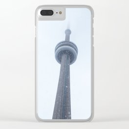Winter in Toronto Clear iPhone Case
