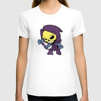 skeletor T-shirts featuring Lil Skeletor by Cynthia Vasquez