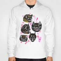 bats Hoodies featuring bats by Krissy Mmmm