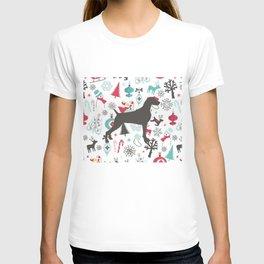 HOLIDAY WEIMARANER T-shirt
