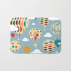 hot air ballon Bath Mat