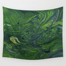 Swirling Jade Wall Tapestry