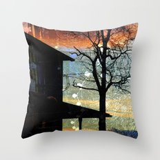 Winter Electric Throw Pillow