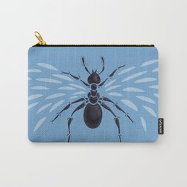 Weird Abstract Flying Ant Carry-All Pouch