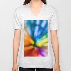 color explosion Unisex V-Neck