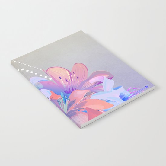 lily bouquet Notebook