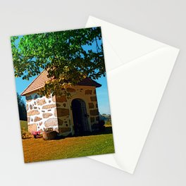 The Binder chapel (and some tree) Stationery Cards