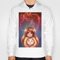 puppycat Hoodies featuring Bee and Puppycat by Dani Taillefer