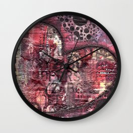 Permission Series: Imagine Wall Clock