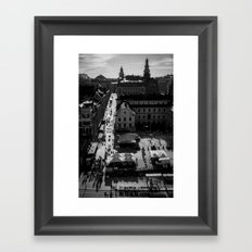Slussen Framed Art Print
