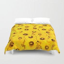 Daffodils en-masse Duvet Cover