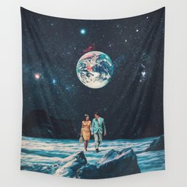 I promise You we will be Back Soon Wall Tapestry