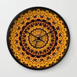 Indian kaleidoscope Wall Clock