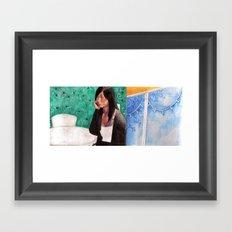 trisha Framed Art Print