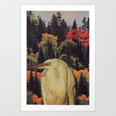 Collage #9 Art Print