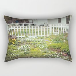 The Back of Front  Rectangular Pillow