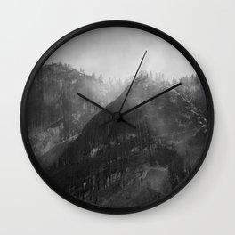 Glacier Point Wall Clock