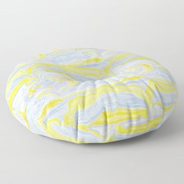 Spring soft serve marble Floor Pillow