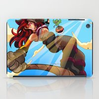 pirate iPad Cases featuring Pirate!! by Lucy Fidelis