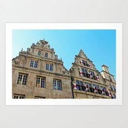Münster Art Print