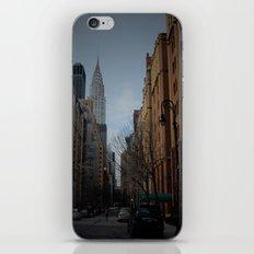 NY bluff iPhone & iPod Skin
