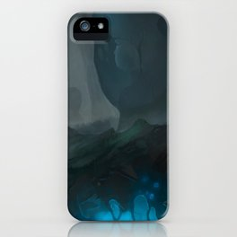 Fracture iPhone Case