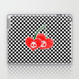 Heart Cherry Skullz Laptop & iPad Skin