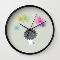 The Happy Fireworks Wall Clock