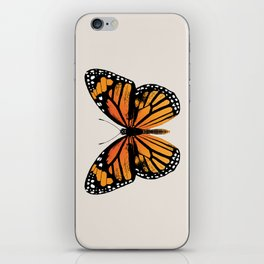 Monarch Butterfly | Vintage Butterfly | iPhone Skin