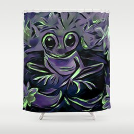 Frazzle Shower Curtain