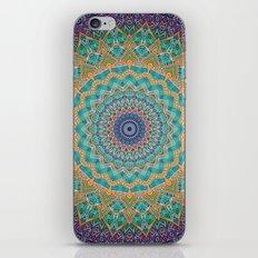 Travel Into Dimensions Mandala. iPhone & iPod Skin